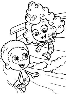 Deema Present Herself To Goby In Bubble Guppies Coloring Page : Coloring Sun Coloring Sheets, Coloring Pages For Kids, Bubble Guppies Coloring Pages, Doraemon Wallpapers, Guppy, Online Coloring, Taxi, Cool Kids, Character Art