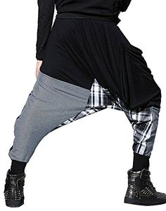 ba774d570c70c Idopy Mens Baggy Hippe Drop Crotch Wide Leg Harem Pants * Read more reviews  of the product by visiting the link on the image. (This is an affiliate  link) # ...