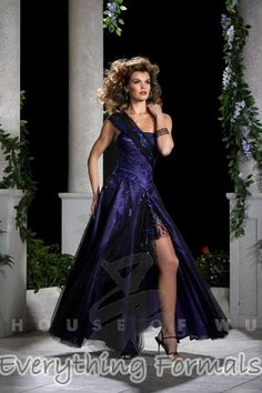 Flirty and Majestic #Tulle One Shoulder Ball Gown Long #PromGown by #Panoply Style 14379~ MSRP: $392.61 Guaranteed Low Price: $313.99 (You save $78.62) *This product is on SALE (http://www.everythingformals.com/Panoply-14379/)