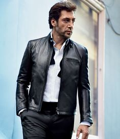 Javier Bardem; sexy men are about demeanor...
