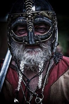 An old Viking warrior, a deadly threat (by definition).