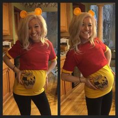 It's almost that time of year mamas! Halloween is on it's way. We're here to help you find the perfect maternity Halloween costume. Costume Halloween, Couples Halloween, Pregnant Halloween Costumes, Costume Sexy, Halloween Diy, Pregnancy Costumes, Family Halloween Costumes, Diy Costumes, Maternity Costumes