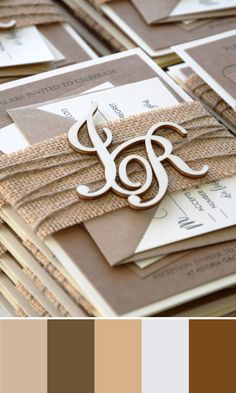 Rustic Monogram Wedding Invitations inspired by rustic and country weddings; and if you love the rustic style, you found the perfect invitation. The set includes all that you see in the pictures and full assembly. Visit to find it. Rustic Wedding Stationery, Personalised Wedding Invitations, Laser Cut Wedding Invitations, Destination Wedding Invitations, Rustic Invitations, Wedding Invitation Cards, Invites, Wedding Decor, Wooden Monogram