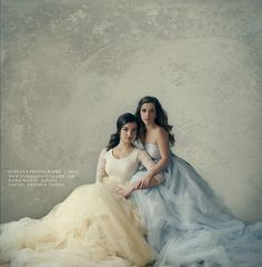 Final Portrait of the princesses . I love creating fine art images! Mother Daughter Poses, Sister Poses, Mother Daughter Photography, Sister Photography, Couple Photography Poses, Glamour Photography, Photography Women, Portrait Photography, Beauty Portrait