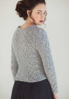 The Irina Pullover: Fit for a ballerina, and you! - Knitting Daily