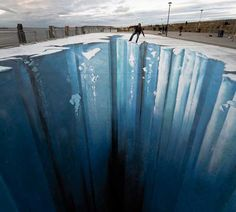 Don't fall in  3D art