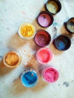 powdered color pigments (byjaccard), http://juliettecrane.com