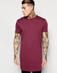 Stephen James ASOS Super Longline T-Shirt With Relaxed Skater Fit ❤️