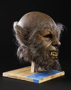 THE WOLFMAN (2010) - Sir John Talbot Werewolf Mask - Price Estimate: $1000 - $1500