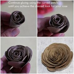 Reduce. Reuse. Recycle. Replenish. Restore.: DIY: How To Make Cabbage Roses Using Empty Toilet Tissue Tubes