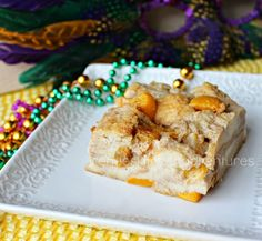 Renee's Kitchen Adventures: New Orleans Style Bread Pudding ... this thing just made my mouth water wanting it!....but think i'll only use peaches and omit the fruit cocktail...oh well, maybe try it both ways!