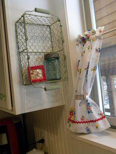 love this way to display a favorite treasured mason jar