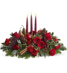 Joyful & Triumphant Centerpieces - a thoughtful Christmas #gift #idea and can be #delivered