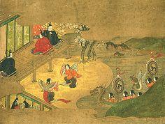 源氏物語絵巻 24図(げんじものがたりえまき)| 国文学研究資料館