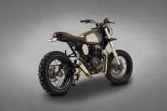 "Honda NX 650 ""Muxima"" by Ton-Up Garage - Lsr Bikes"