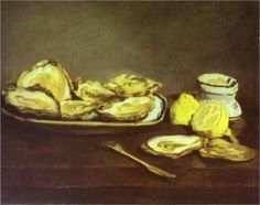 Oysters - Edouard Manet 1862