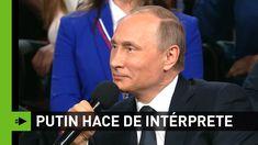 El día que Putin hizo de traductor para un periodista alemán Youtube, Fictional Characters, Journaling, Russia, Fantasy Characters, Youtubers, Youtube Movies