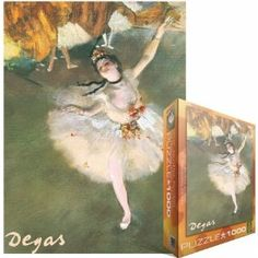 Eurographics EUROPZ-2033 Jigsaw Puzzle 1000 Pieces 19.25 in. X26.5 in. -Degas - Ballerina