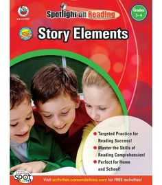 Story Elements Resource Book - Carson Dellosa Publishing Education Supplies #CDWishList