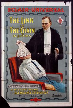 """The Link in The Chain"" was filmed in 1914."