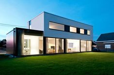 House WR by Niko Wauters - CAANdesign | Architecture and home design blog
