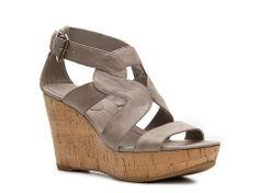 Bandolino Eamon Wedge Sandal Women's Wedge Sandals Sandals Women's Shoes - DSW