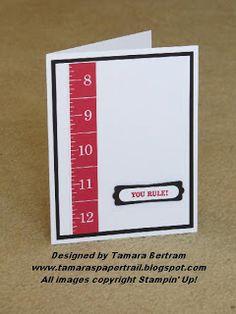 Teacher Card;Tamara's Paper Trail; Stampin' Up!