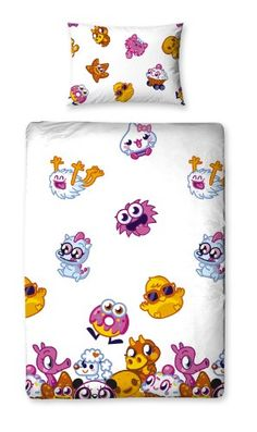 From 3.99:Character World Moshi Monsters Moshlings Single Rotary Duvet Set | Shopods.com