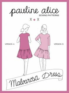 This babydoll dress features an A-line bodice, low waistline, full gathered skirt, boat neckline, bust darts and drop shoulder sleeves (version A is sleeveless - version B has 3/4 sleeves).The loose-fitting silhouette allows you to move easily and in order to be even more practical, there are...