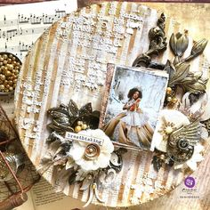 from Brand Ambassador Reniferove. You can find her at @reniferove Click to check out our products and find a retailer near you! #primamarketinginc #createwithprima #PrimaMarketing #Prima #PrimaFlowers #scrapbook #mixedmedia #art #embellishment #flowers #Finnabair #Finnabairmixedmedia Finnabair Mixed Media, Round Canvas, Prima Marketing, Cursed Child Book, Love Painting, Embellishments, Past, Videos, Arts And Crafts