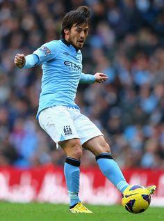 ~ David Silva of Manchester City ~