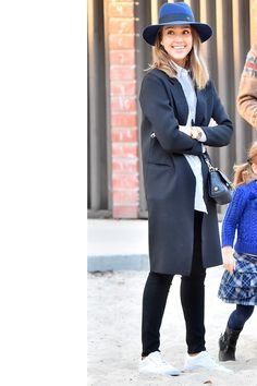 Who: Jessica Alba What: The Perfect Topper Why: The actress goes casual for a family outing, but her Maison Michel felt fedora adds flair while pulling the whole look together.  Get the look: Maison Michel hat, $875, shopBAZAAR.com. —Chrissy Rutherford   - HarpersBAZAAR.com