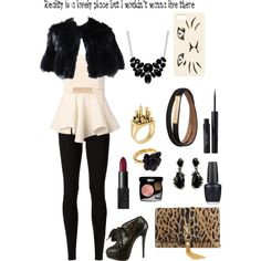 """Reality is a lovely place but I wouldn't want to live there"" by grace-buerklin on Polyvore"