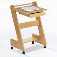 Directions East Z Mobile Workstation with Maple Finish by Directions East. Save 44 Off!. $89.19. The entire top adjusts in height from 25-Inch to 31-Inch. Sturdy wheels for portability. Workstation has pull out drawer and bottom shelf for storage. The Z Mobile workstation is functional and stylish. Its made of wood and MDF with paper laminate and features a maple finish. The sturdy wheels make it portable and easy to move from room to room. The top adjusts in height from 25-In...
