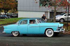 1955 Plymouth Savoy Sedan   At Auckland , NZ.