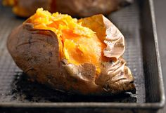 Cut a Few Carbs  Have a baked sweet potato (105 calories per medium) seasoned with cayenne pepper or other spices instead of a russet potato (161 calories) topped with butter (one tablespoon is 102 calories), cheddar cheese (one ounce is 114 calories), and sour cream (one tablespoon is 23 calories), and swap one cup cooked sweet yellow corn (143 calories) for one cup cooked spinach with salt (41 calories).     Save: 397 calories