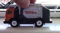 Garbage Truck Video MATCHBOX Tonka Front Loader