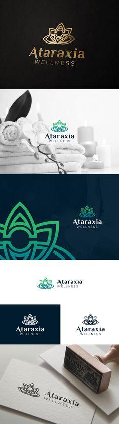 LOGO Ataraxia - wellness on Behance