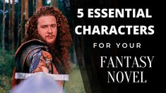 5 Essential Characters for Your Fantasy Novel Book Writing Tips, Editing Writing, Book Writer, Fiction Writing, Writing Help, Fantasy Romance, Fantasy Girl, Writing Fantasy, Unbelievable Facts