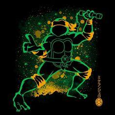 """The Nunchaku"" from Soulkr is also available as a Tote Bag, Phone Case, Throw Pillow, Fleece Blanket, Shower Curtain and much more! Ninja Turtles Art, Teenage Mutant Ninja Turtles, Dope Cartoon Art, Beautiful Fantasy Art, Disney Fan Art, Cool Cartoons, Art Sketchbook, Wolf, Pokemon"
