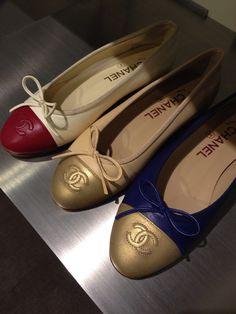 #Chanel #Flats from #Barneys New York | PS Dept. $675