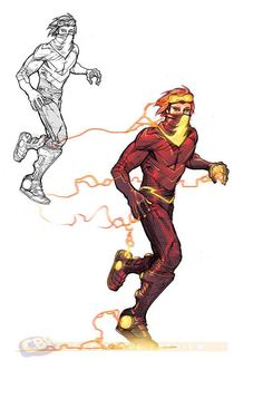Justice League 3000  Flash- yeah... my favorite character