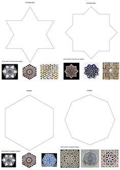tessellation islamic tile - Google Search