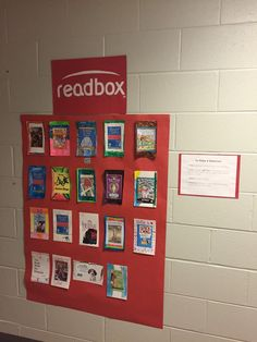 Create a Readbox of book trailers using Shadow Puppet Edu and QR Codes! @amyriley418