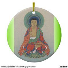 Healing Biuddha ornament