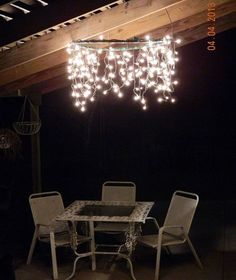 You might want to dig out your Christmas lights right now when you see these!