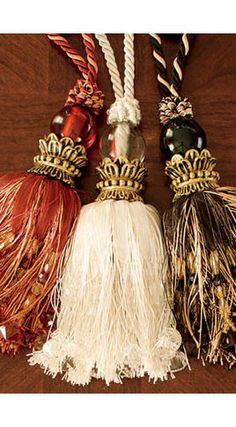 Crown Tassel - traditional - curtains - Country Curtains