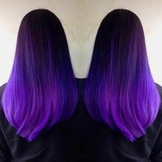 We've gathered our favorite ideas for Iroiro 20 Purple Natural Vegan Cruelty Free Semi Permanent, Explore our list of popular images of Iroiro 20 Purple Natural Vegan Cruelty Free Semi Permanent in permanent purple hair dye color. Hair Color Purple, Color Your Hair, Cool Hair Color, Purple Ombre, Pink Hair, Best Ombre Hair, Brown Ombre Hair, Pelo Color Morado, Semi Permanent Hair Color