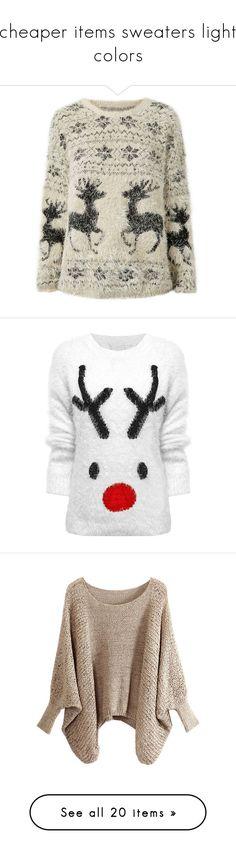 Forever21 Reindeer Fair Isle Sweater (840 INR) ❤ liked on ...