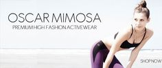 premium fashion activewear - Oscar Mimosa at myescape activewear for women